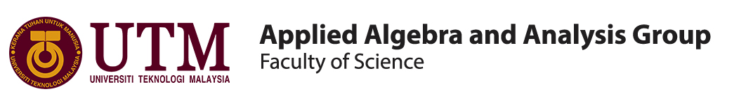 APPLIED ALGEBRA AND ANALYSIS GROUP