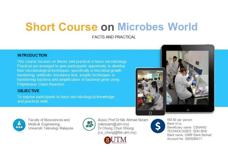 Short Course On Microbes World