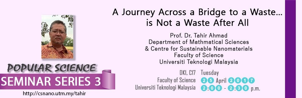 Popular Science Seminar Series 3