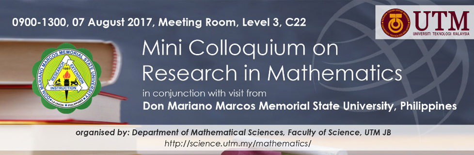 Mini Colloquium on Research in Mathematics
