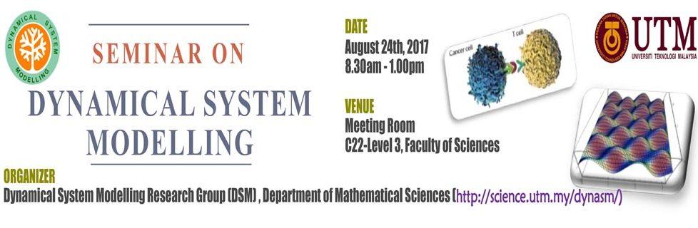 Seminar on Dynamical System Modelling