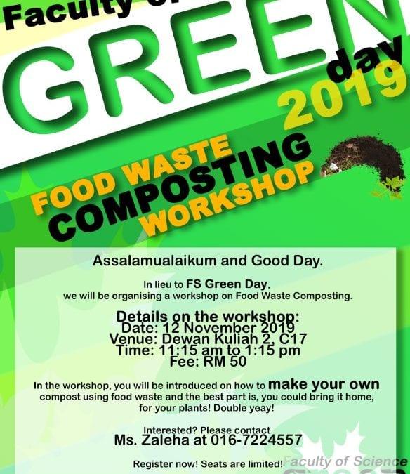 FS GREEN DAY – 12 NOVEMBER 2019 ( SELASA )