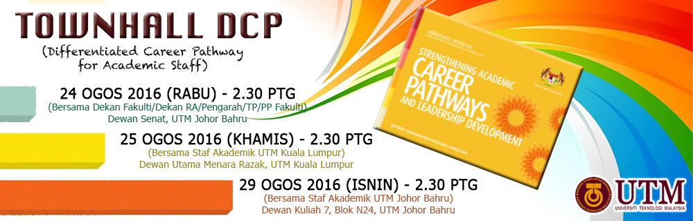 Townhall for Differentiated Career Pathway (DCP)