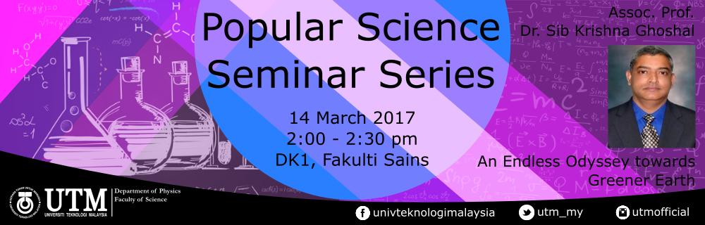Popular Science Seminar Series