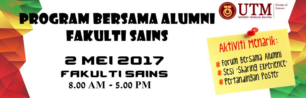 Program Bersama Alumni Fakulti Sains
