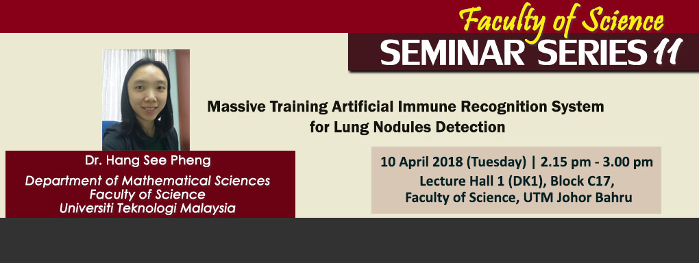 Faculty of Science Seminar Series 11