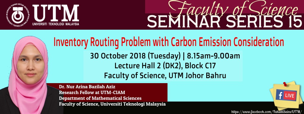Faculty of Science Seminar Series 15