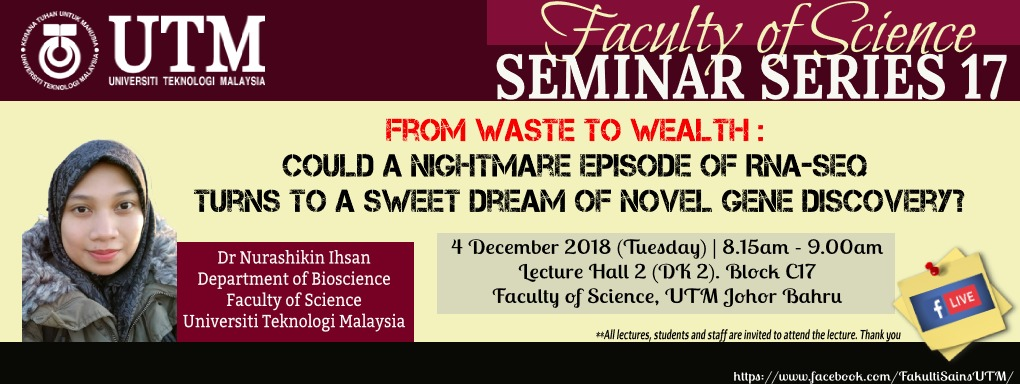 Faculty of Science Seminar Series 17