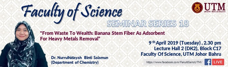 Faculty of Science Seminar Series 18