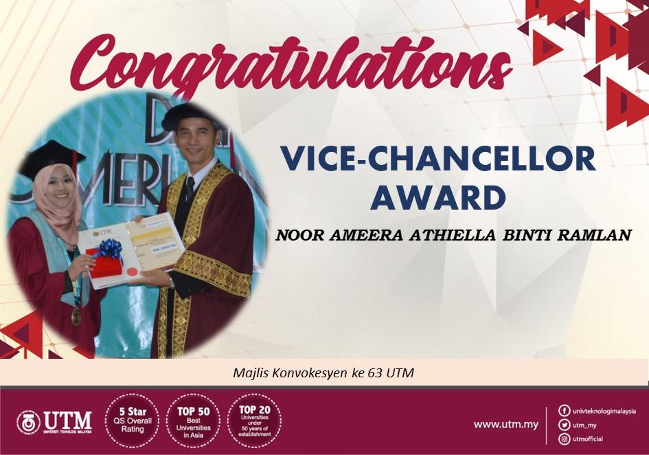 VICE-CHANCELLOR AWARD