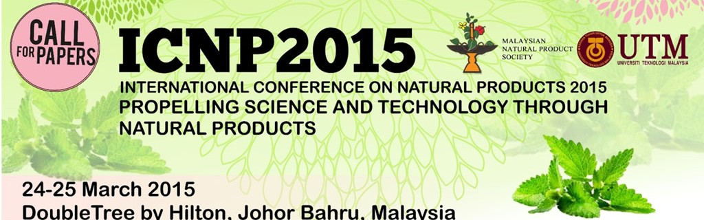 International Conference on Natural Product 2015(ICNP2015)