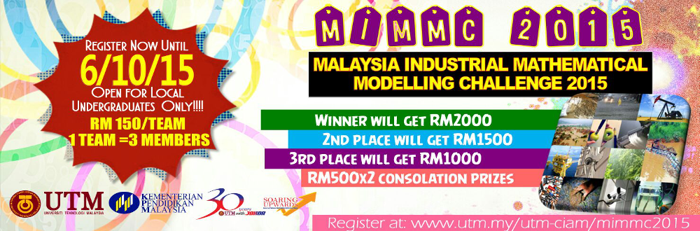 Malaysia Industrial Mathematical Modelling Challenge 2015