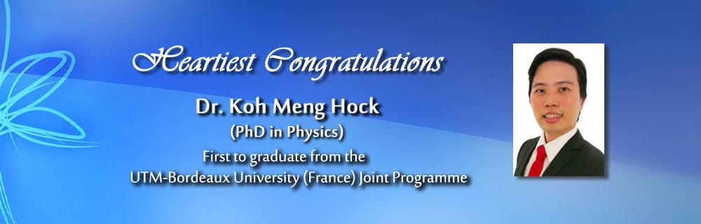 Dr Koh Meng Hock