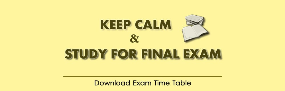 Exam Wish May 2016