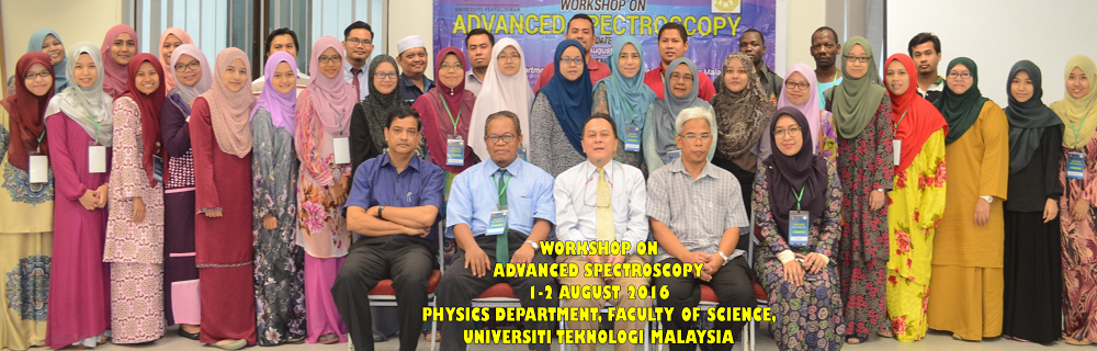 Workshop on Advanced Spectroscopy