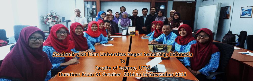 Academic Visit From Universitas  Negeri Semarang, Indonesia