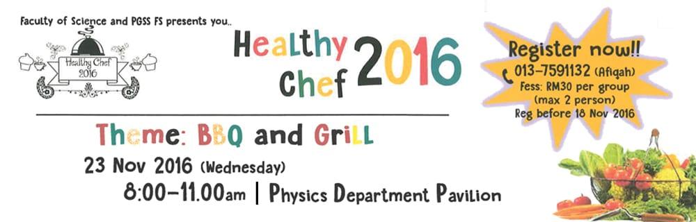 Healthy Chef 2016