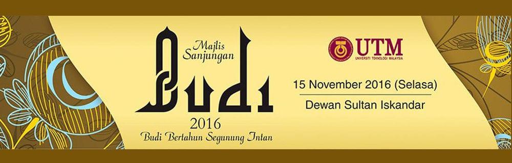 Majlis Sanjungan Budi UTM 2016