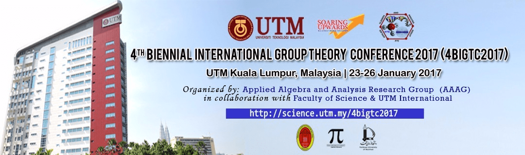 4th Biennial International Group Theory Conference 2017