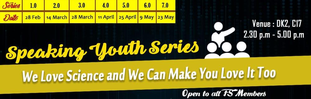 Speaking Youth Series