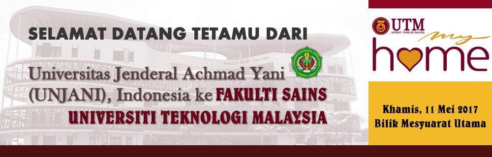 Tetamu dari Universitas Jenderal Achmad Yani