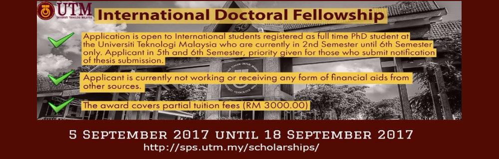 IDF Scholarship