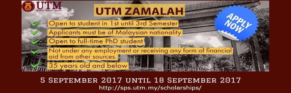 Zamalah Scholarship