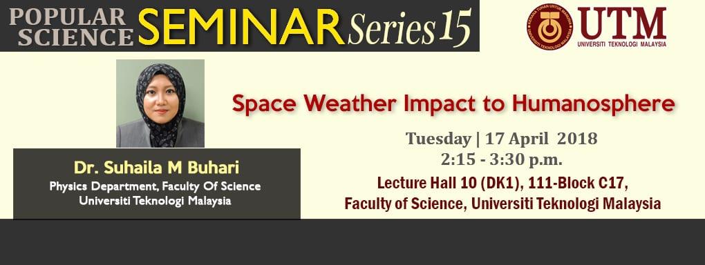 Popular Science Seminar Series 15