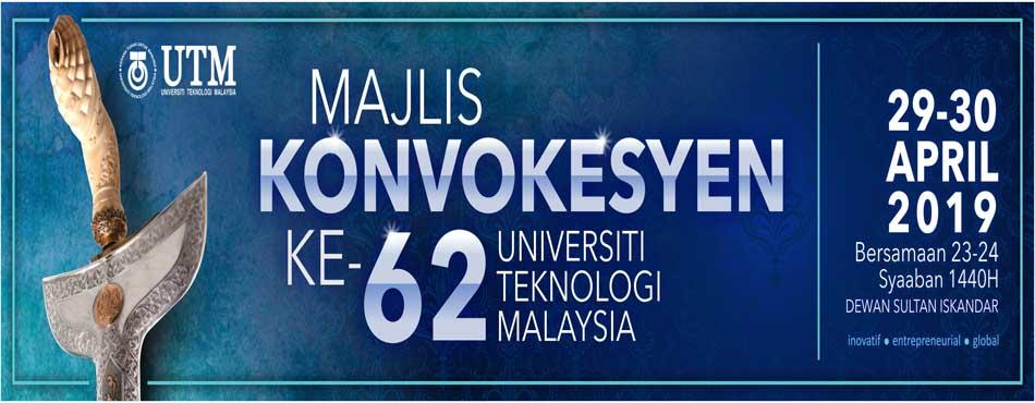 Majlis Konvokesyen ke-62 UTM