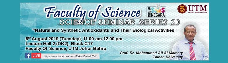 Seminar Series 20