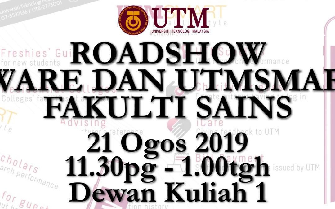ROADSHOW SOFTWARE DAN UTMSMART 2019