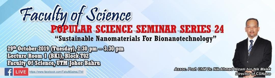 Popular Science Seminar Series 24
