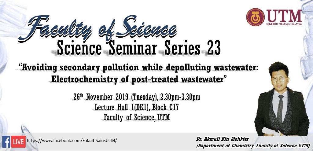 Faculty of Science Seminar Series 23