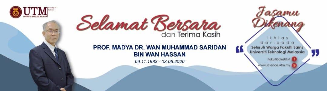 Selamat Bersara – PM Dr Wan Saridan