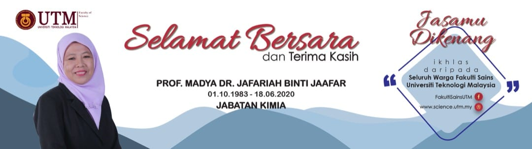 Selamat Bersara Dr Jafariah