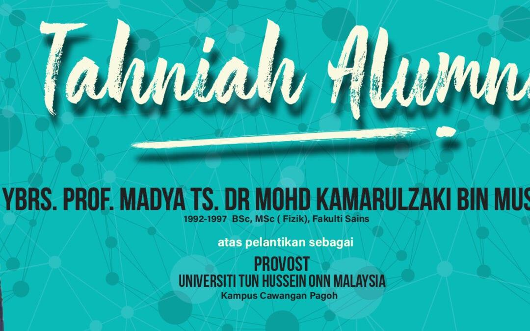 Tahniah Alumni