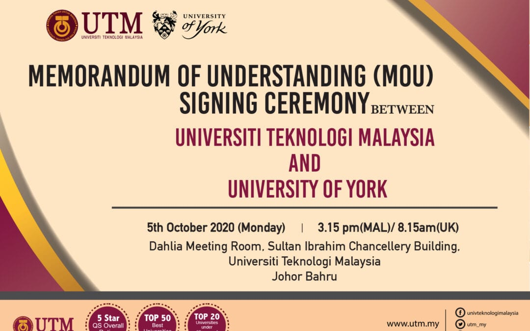 MEMORANDUM OF UNDERSTANDING (MoU) SIGNING CEREMONY